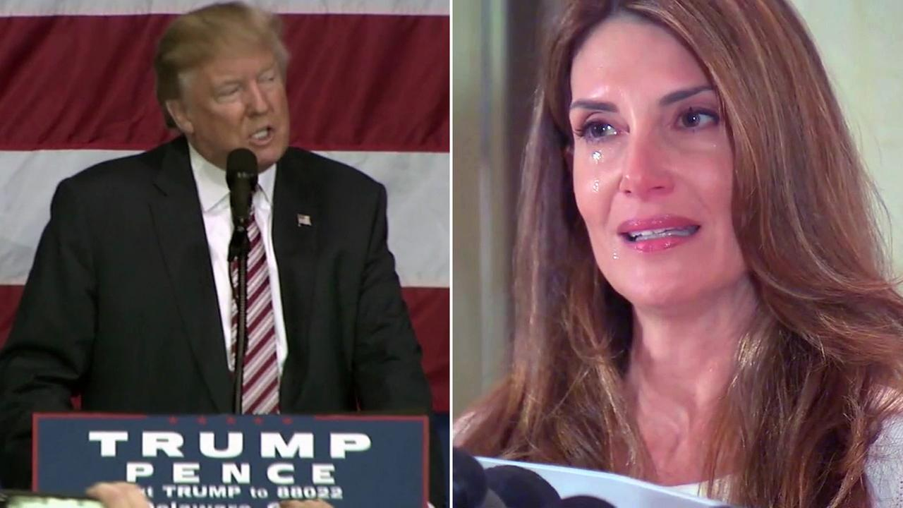 Karena Virginia, a yoga instructor from New York, claimed Donald Trump approached her and there was sexually aggressive and inappropriate behavior at the U.S. Open in 1998.
