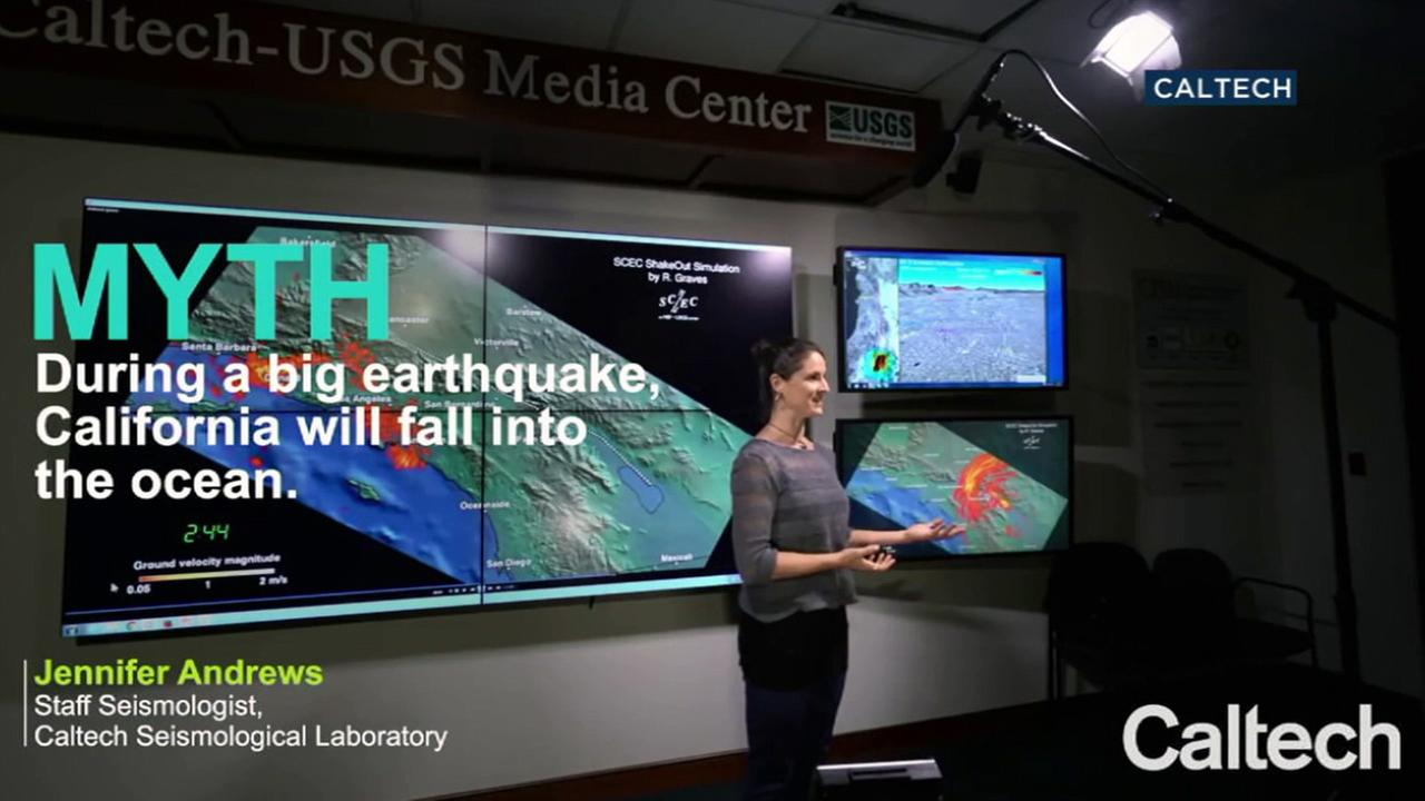 Dr. Jennifer Andrews of the California Institute of Technology helped to debunk five of the most popular earthquake myths.