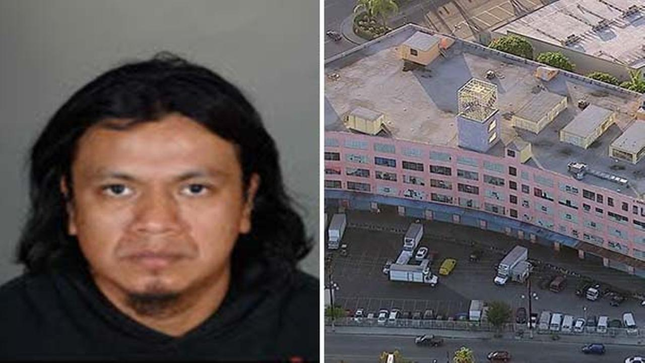 Police said 34-year-old Ricardo Utuy stabbed 3-year-old Baby Ruby to death at a clothing factory in the 800 block of McGarry Street in Los Angeles on Monday, Oct. 31, 2016.