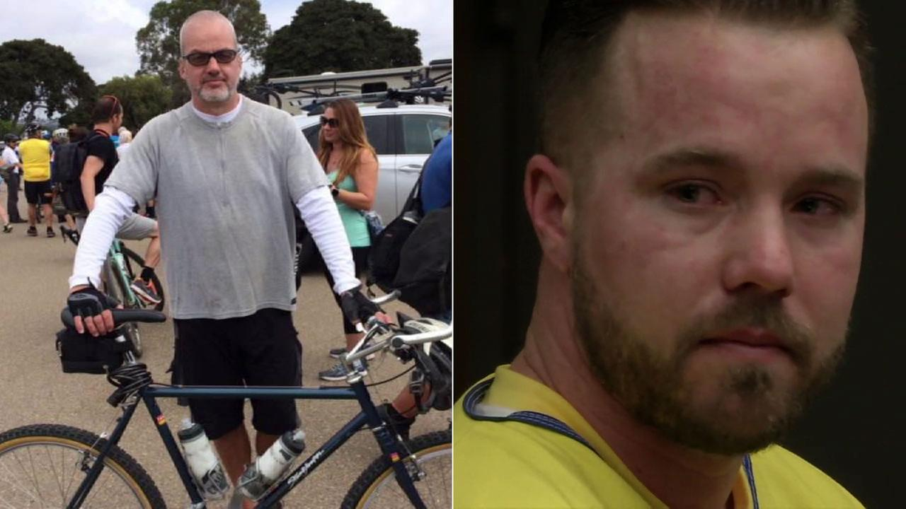 Lucas James Guidroz, right, pleaded no contest and was sentenced to 10 years in the hit-and-run death of bicyclist Roderick Bennett (left).