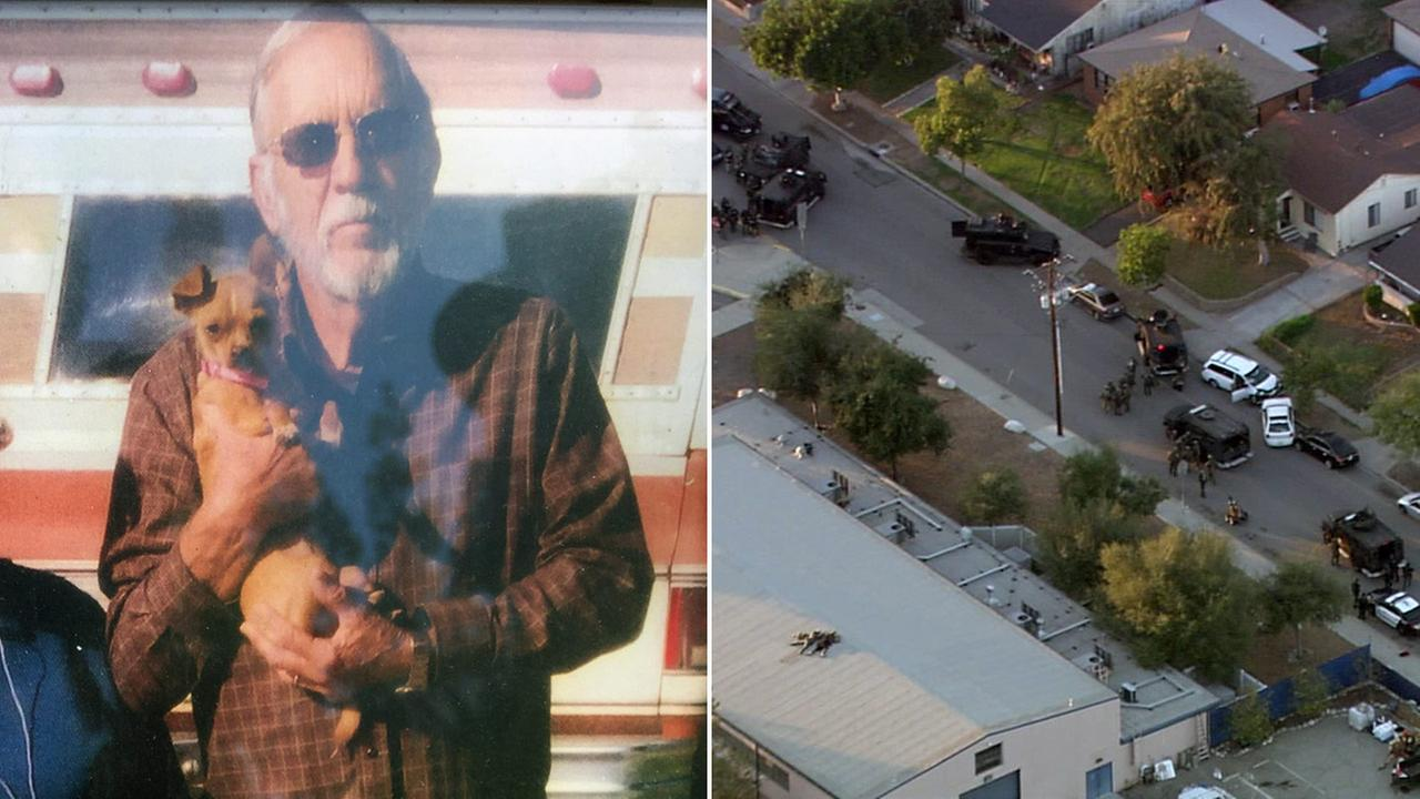 Francis William Varney, 77, of Azusa, was killed by a gunman who authorities said was binging on cocaine when he opened fire on Fourth Street in Azusa on Tuesday, Nov. 8, 2016.