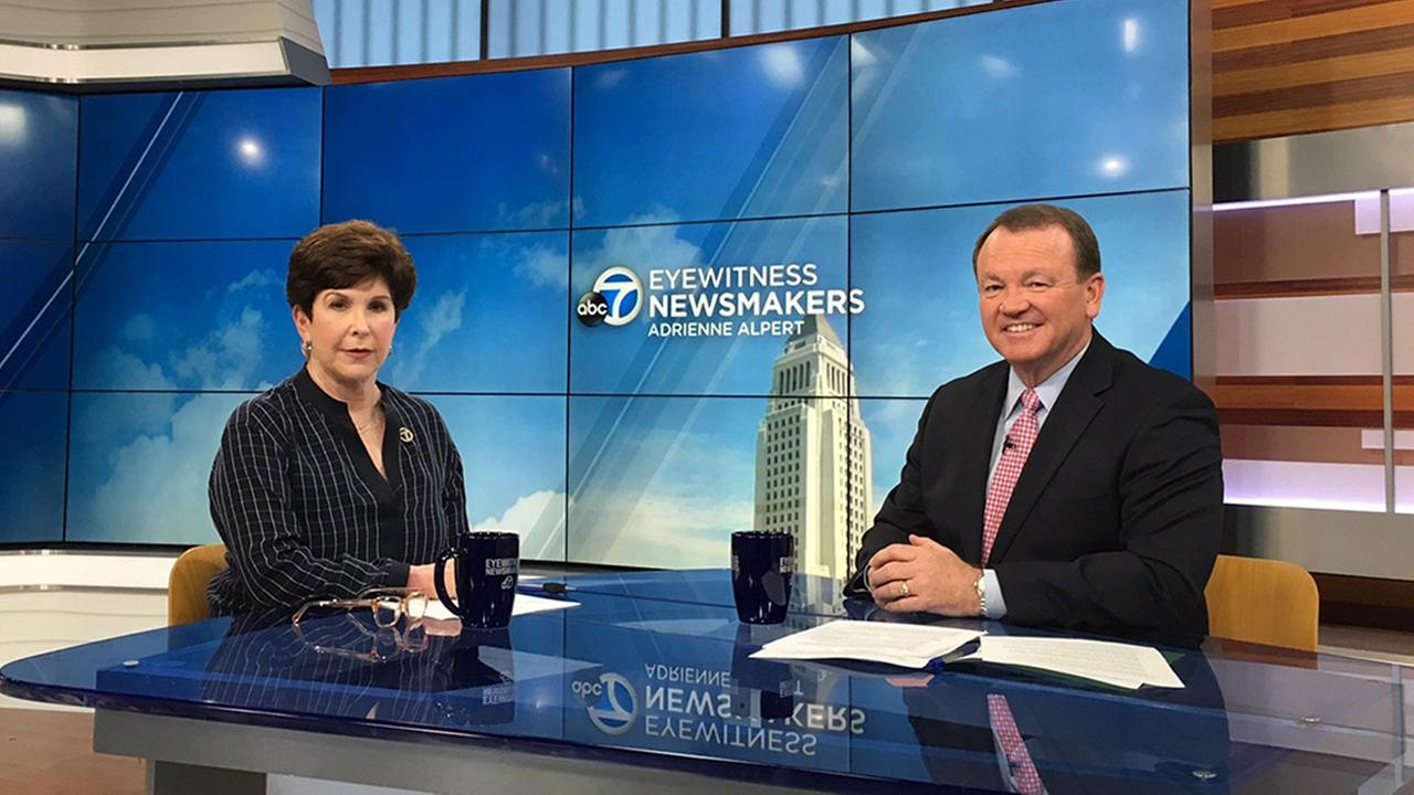 Los Angeles County Sheriff Jim McDonnell spoke with Adrienne Alpert about future plans for his agency on Eyewitness Newsmakers.