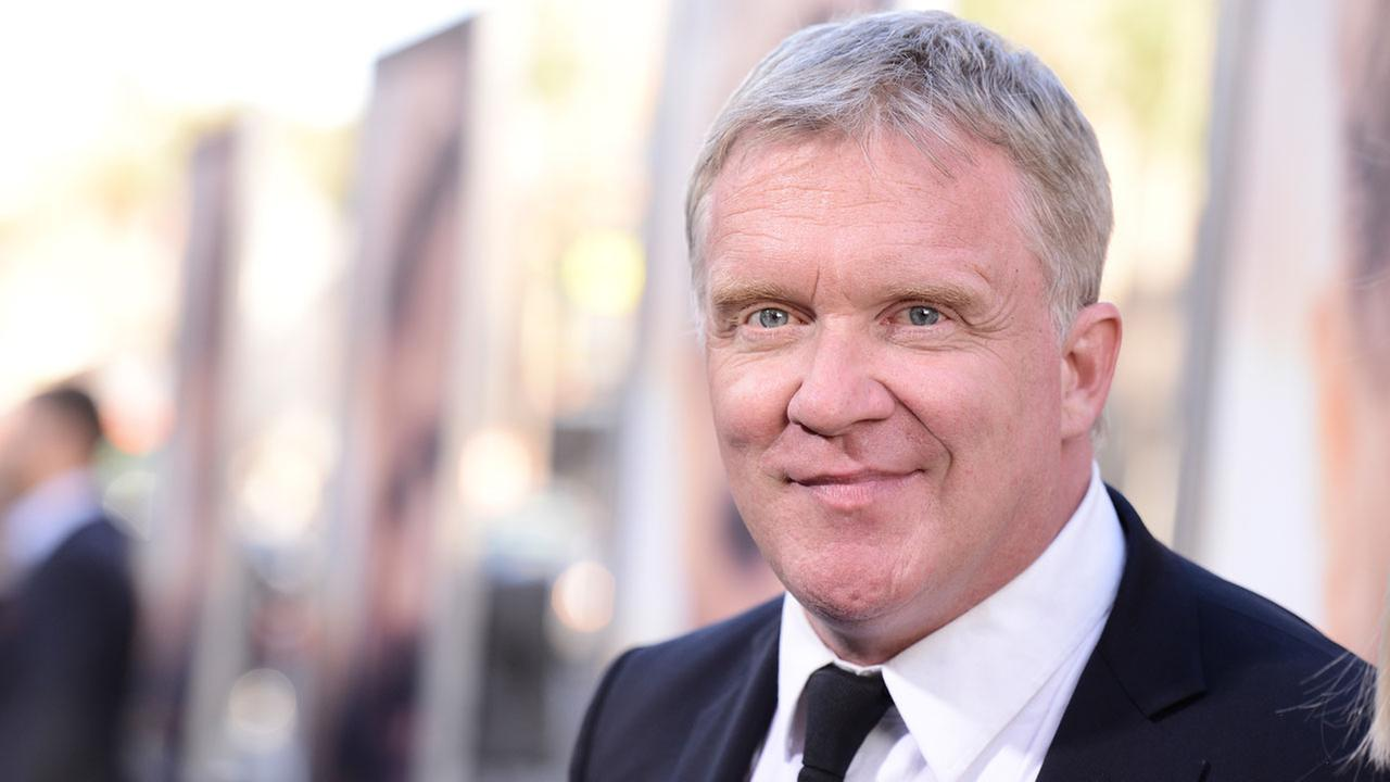 Actor Anthony Michael Hall attends the premiere of the feature film The Water Diviner in Los Angeles on Thursday, April 16, 2015.