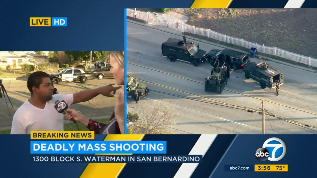 Leanne Suter was among the team of ABC7 reporters who covered the San Bernardino terror attack on Dec. 2, 2015.