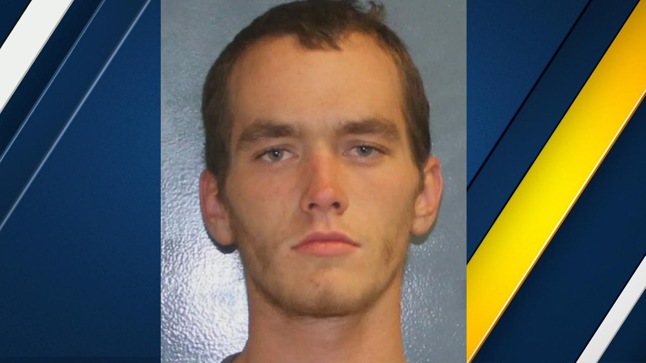 Authorities said 21-year-old Brian Walker broke into a home in Visalia, Calif., and was found naked in a bathtub on Saturday, Dec. 10, 2016.