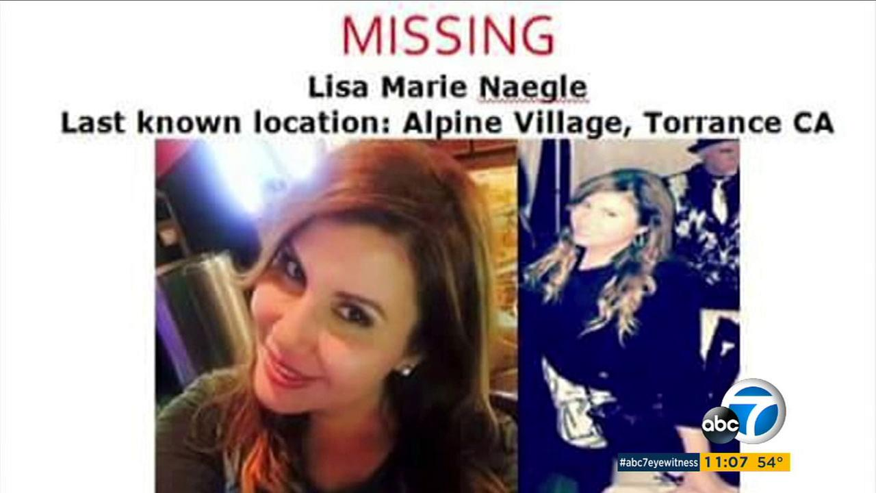 Former reality-show contestant Lisa Marie Naegle, 36, of San Pedro has been missing since early Sunday, Dec. 18, 2016.