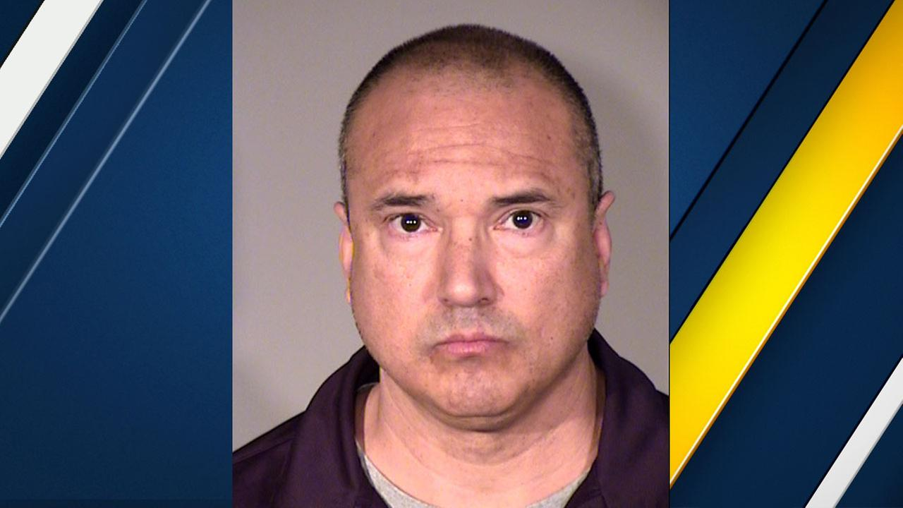 Dr. Paul Duran, 50, of Los Angeles, is shown in a mugshot.