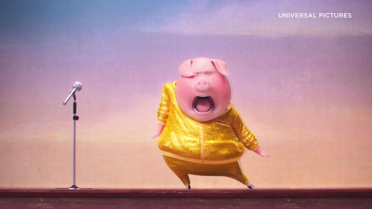 New movies for Christmas weekend include the animated Sing.