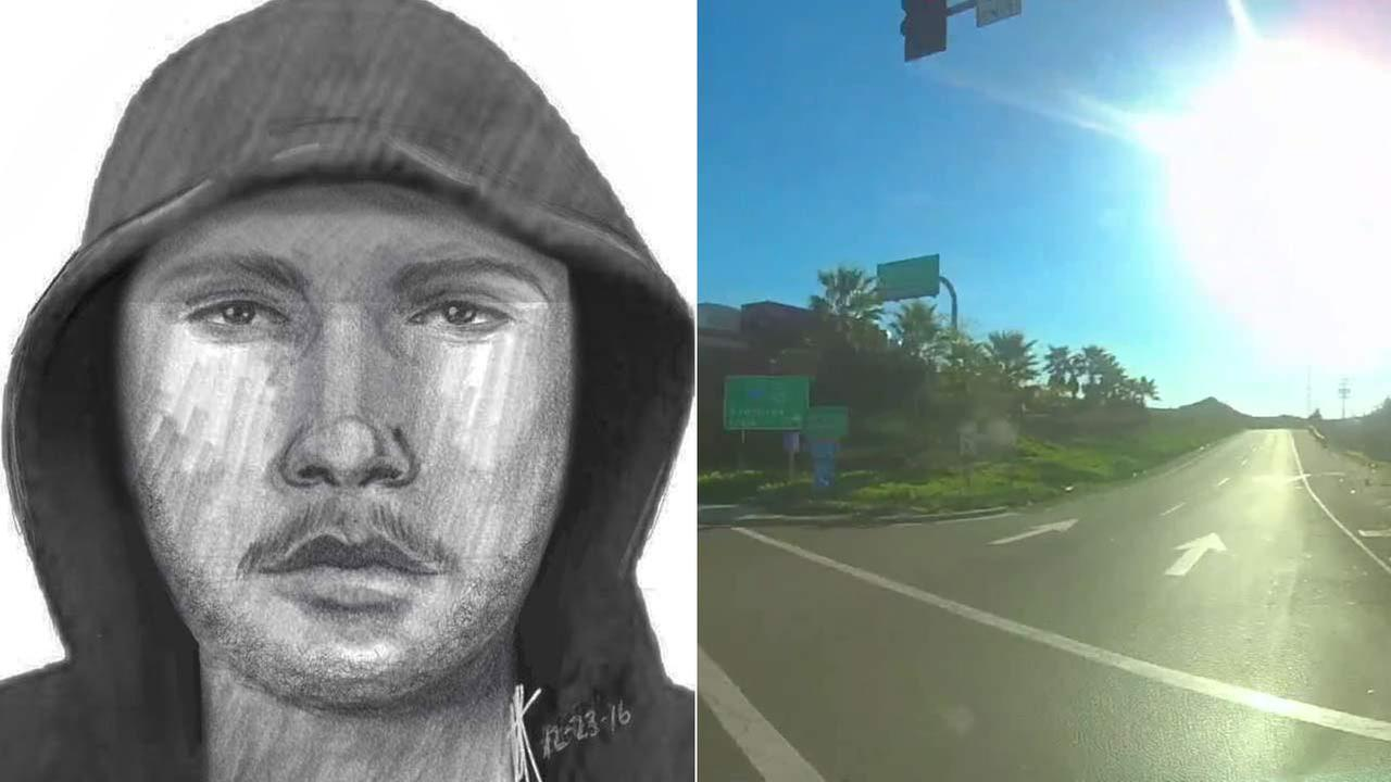 Riverside police released this composite sketch of a suspect accused of robbing and attempting to sexually assault a woman on Friday, Dec. 23, 2016.