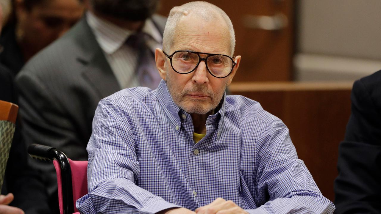 Real estate heir Robert Durst sits in a courtroom during a hearing Wednesday, Dec. 21, 2016, in Los Angeles.