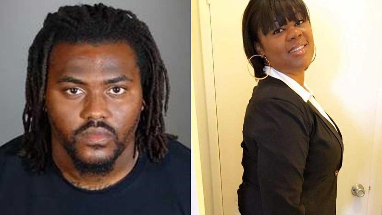 (L) Antowan Parker, 27, is seen in a photo released by the Los Angeles County Sheriffs Department. (R) Kenia Buckner, 26, is seen in a photo provided by a friend.