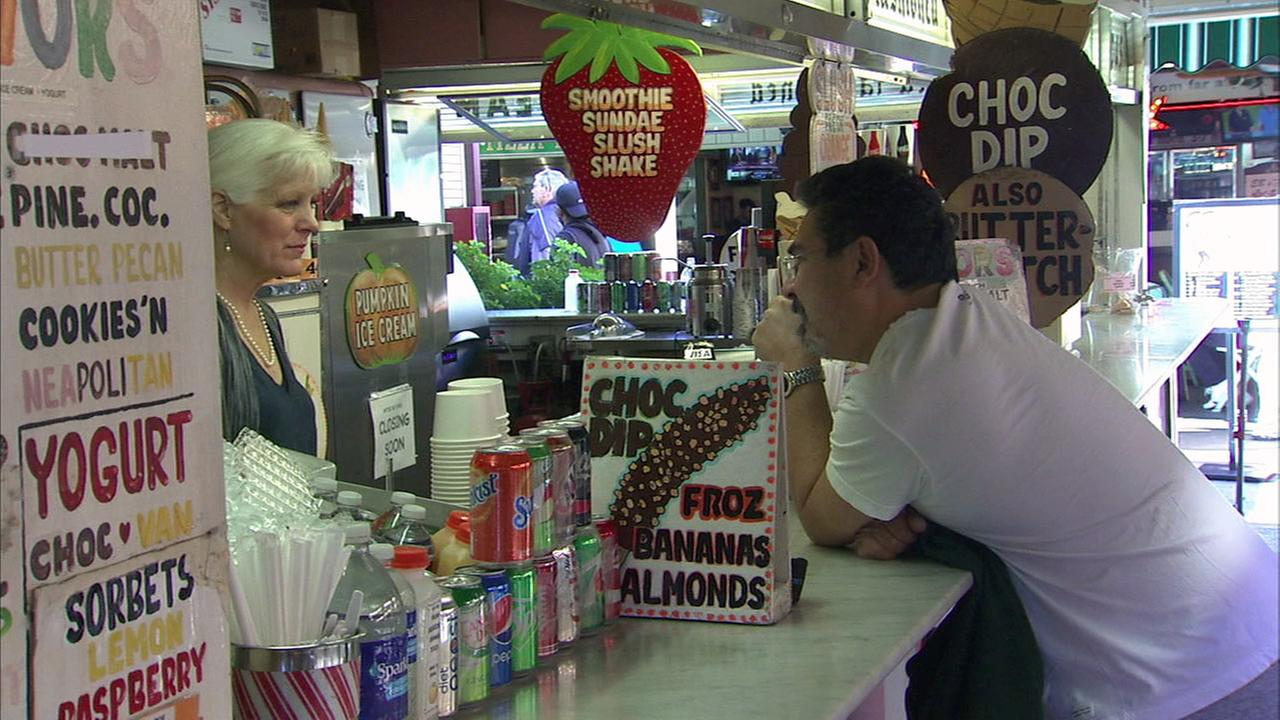 After 80 years in business, Gills Old Fashioned Ice Cream shop will close at the Original Farmers Market in the Fairfax District.