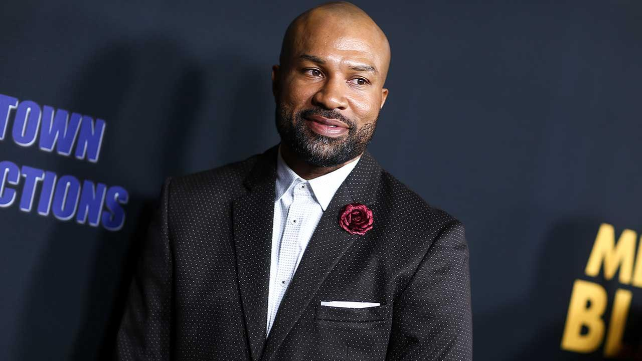 Derek Fisher attends the LA Premiere of Meet the Blacks held at ArcLight Hollywood on Tuesday, March 29, 2016, in Los Angeles. (Photo by John Salangsang/Invision/AP)