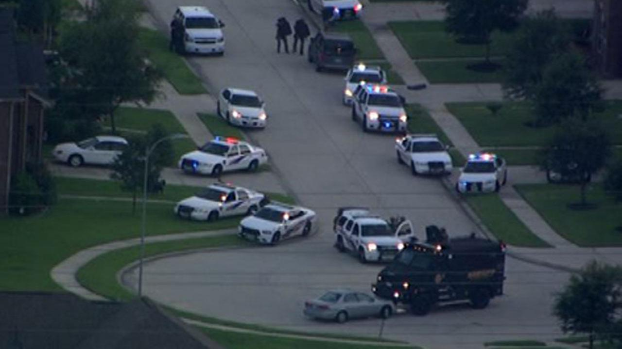 Six people were fatally shot, including four children, at a home in suburban Houston Wednesday, July 9, 2014.