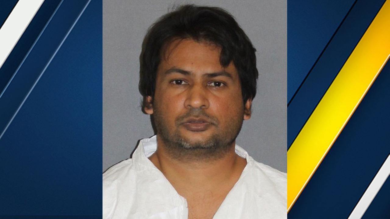 Nolan Pascal Pillay, 37, was arrested in the shooting death of two people in Irvine on Tuesday, Jan. 31, 2017.