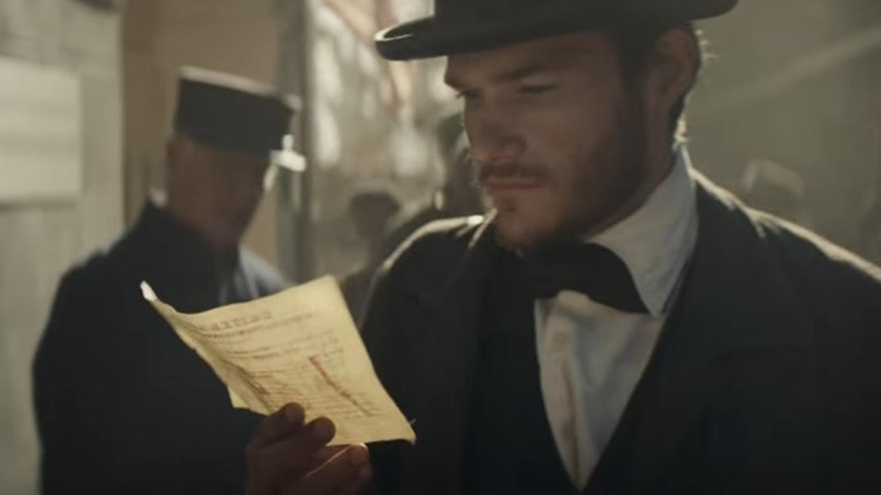 Budweiser founder Adolphus Busch is depicted in the companys 2017 Super Bowl ad as he travels from Germany to St. Louis.