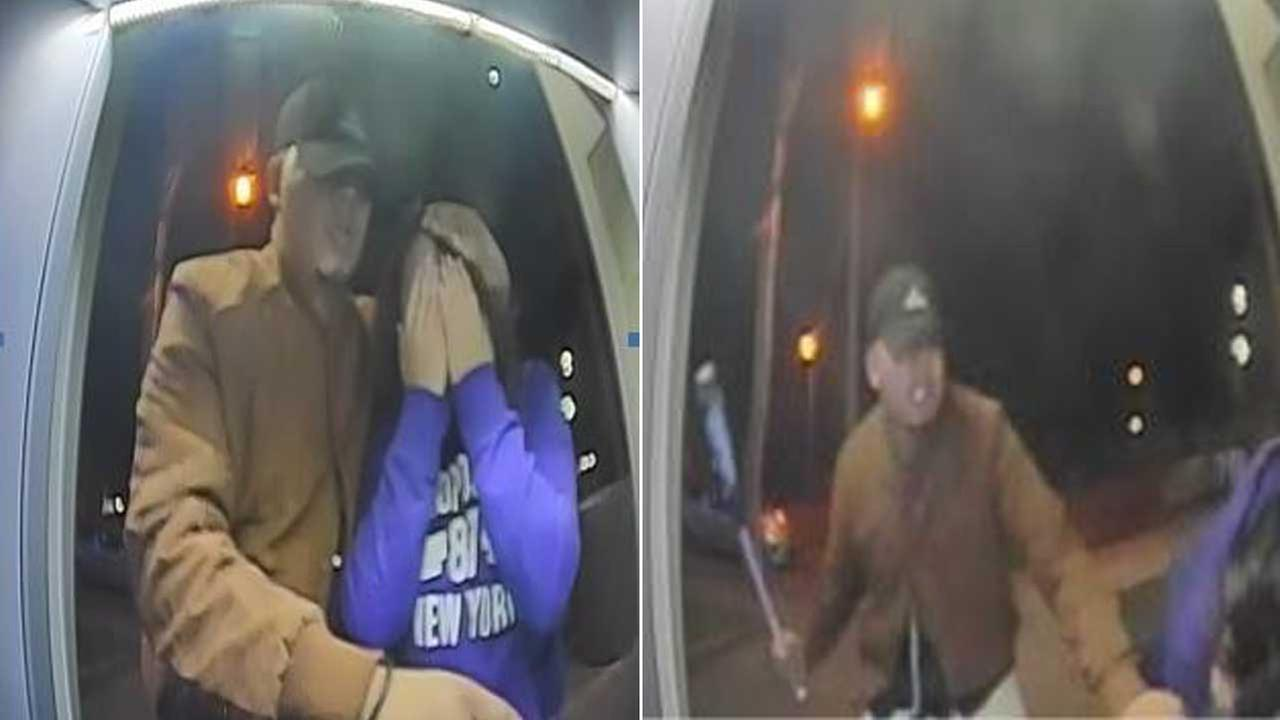 Surveillance still images show a man wanted for robbing a teenager at a Chase Bank ATM in Torrance on Nov. 9, 2016.