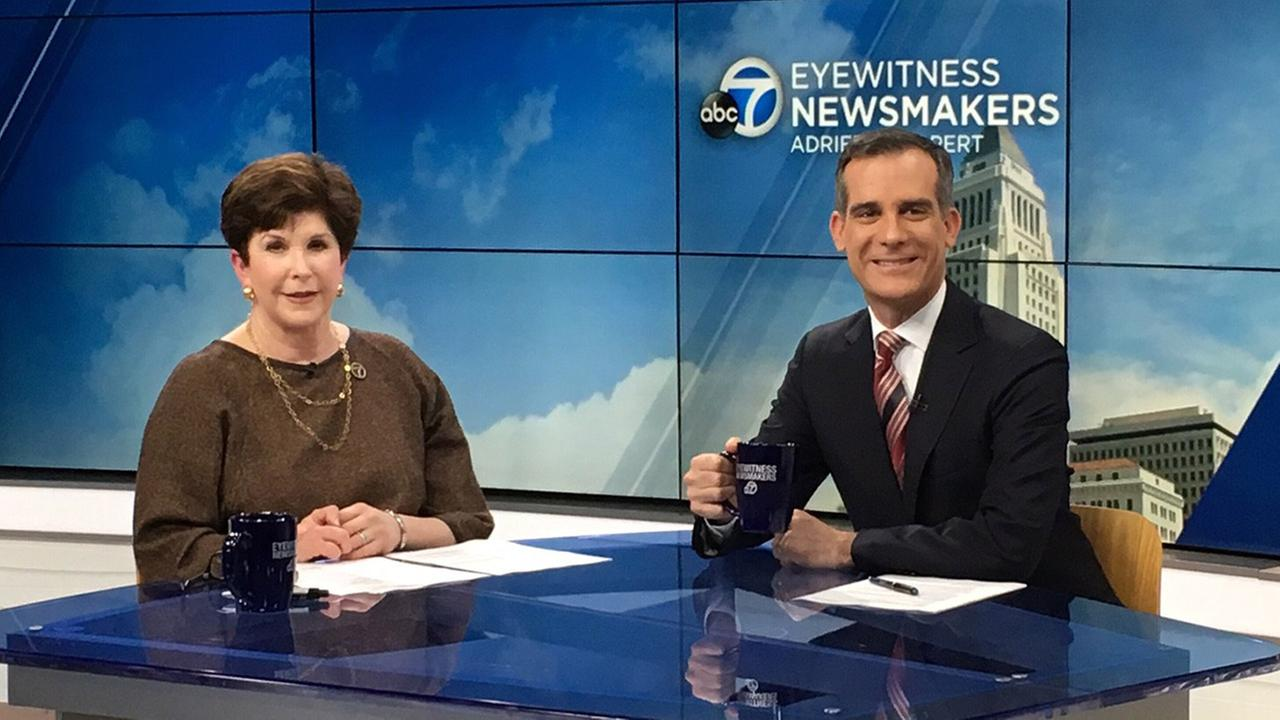 Los Angeles Mayor Eric Garcetti declared himself strongly opposed to the Calexit on this months edition of Ask the Mayor on Eyewitness Newsmakers.