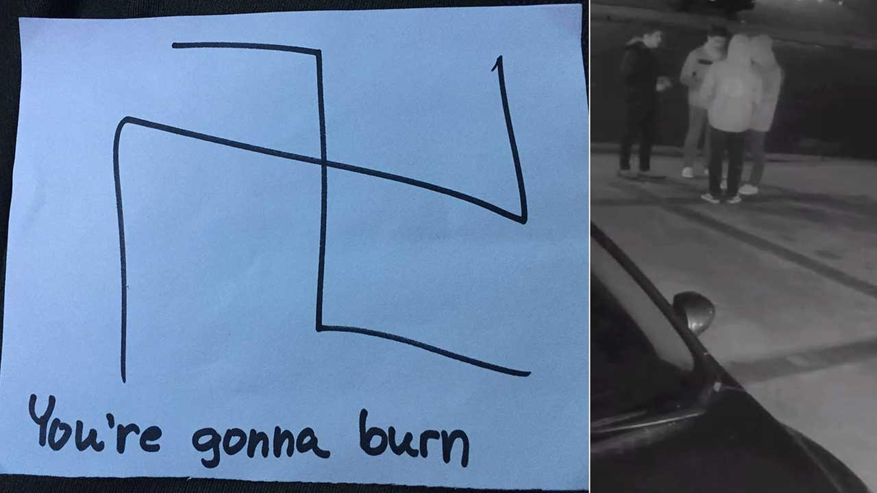 The Ventura County Sheriffs Office said notes with anti-Semitic message were placed at homes and a Chabad in Oak Park.