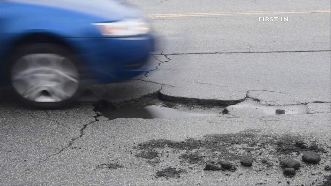 Streets throughout Southern California are riddled with potholes after this winters storms.