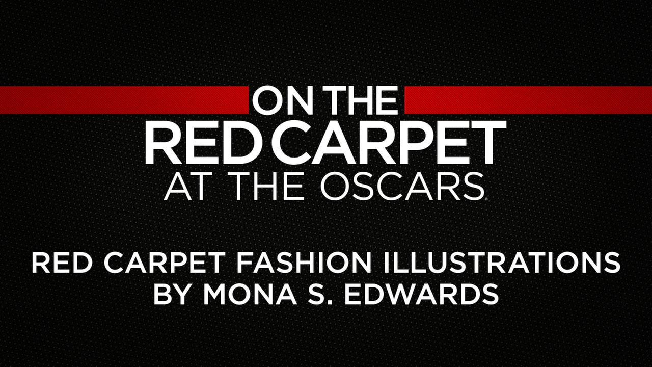 Artist Mona Shafer Edwards will sketch the stars as they arrive on the Oscar red carpet.