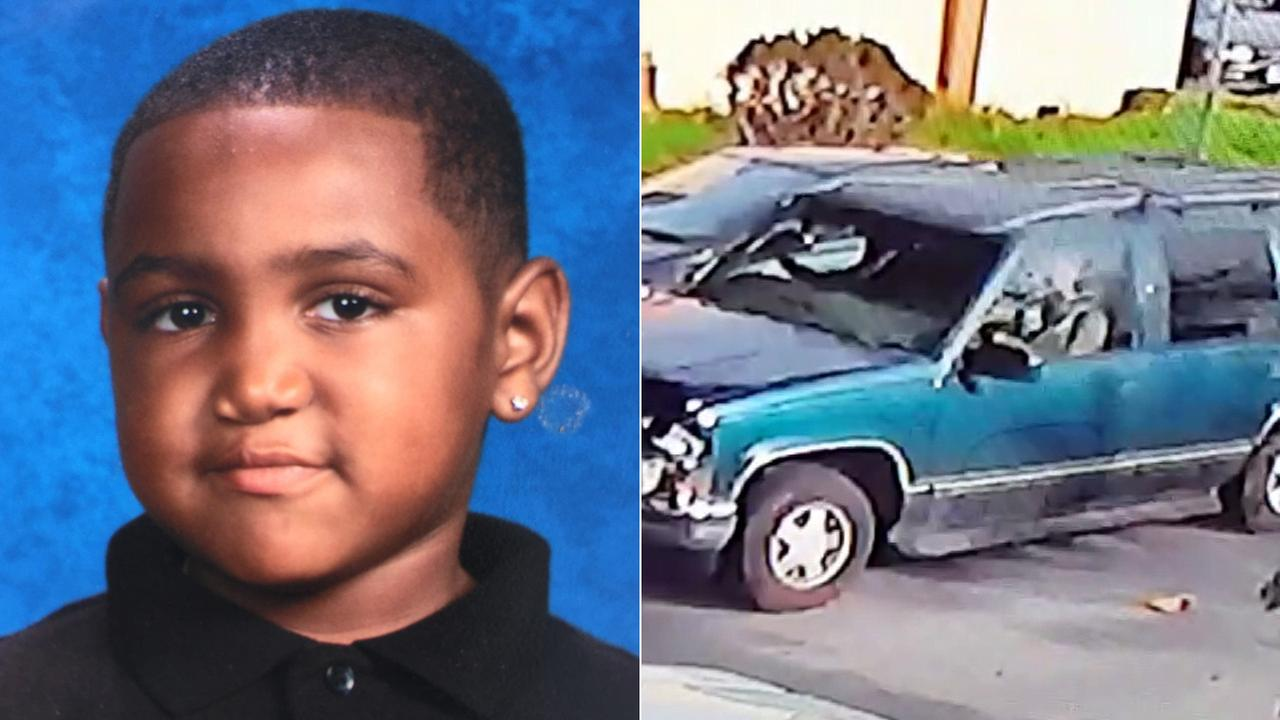 (L) Ronald Neil III is seen in a photo provided by his mother. (R) The driver in the fatal hit-and-run is seen in a surveillance image.