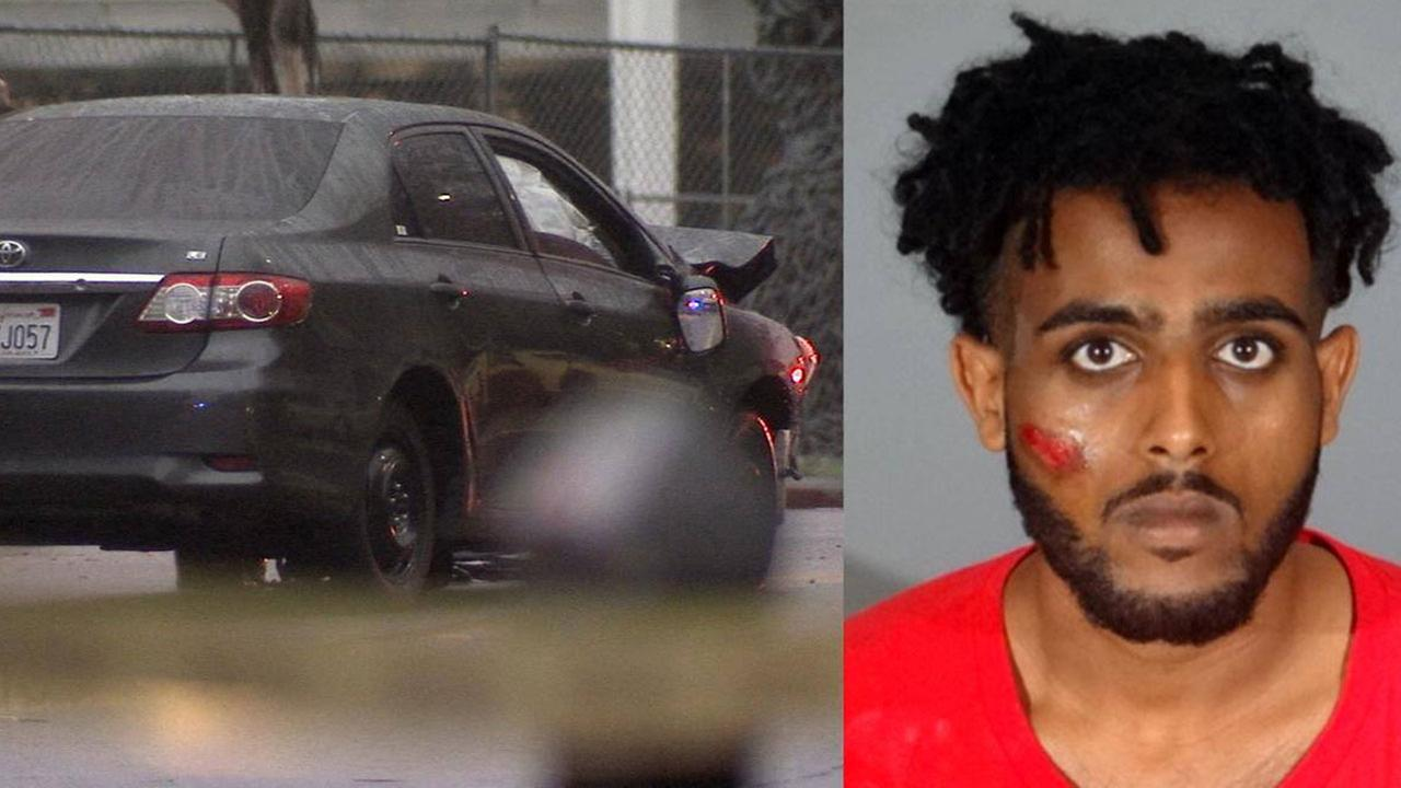 Suspect Absadi Kidane, 21, was arrested for a fatal hit-and-run in Santa Monica on Tuesday, March 21, 2017.