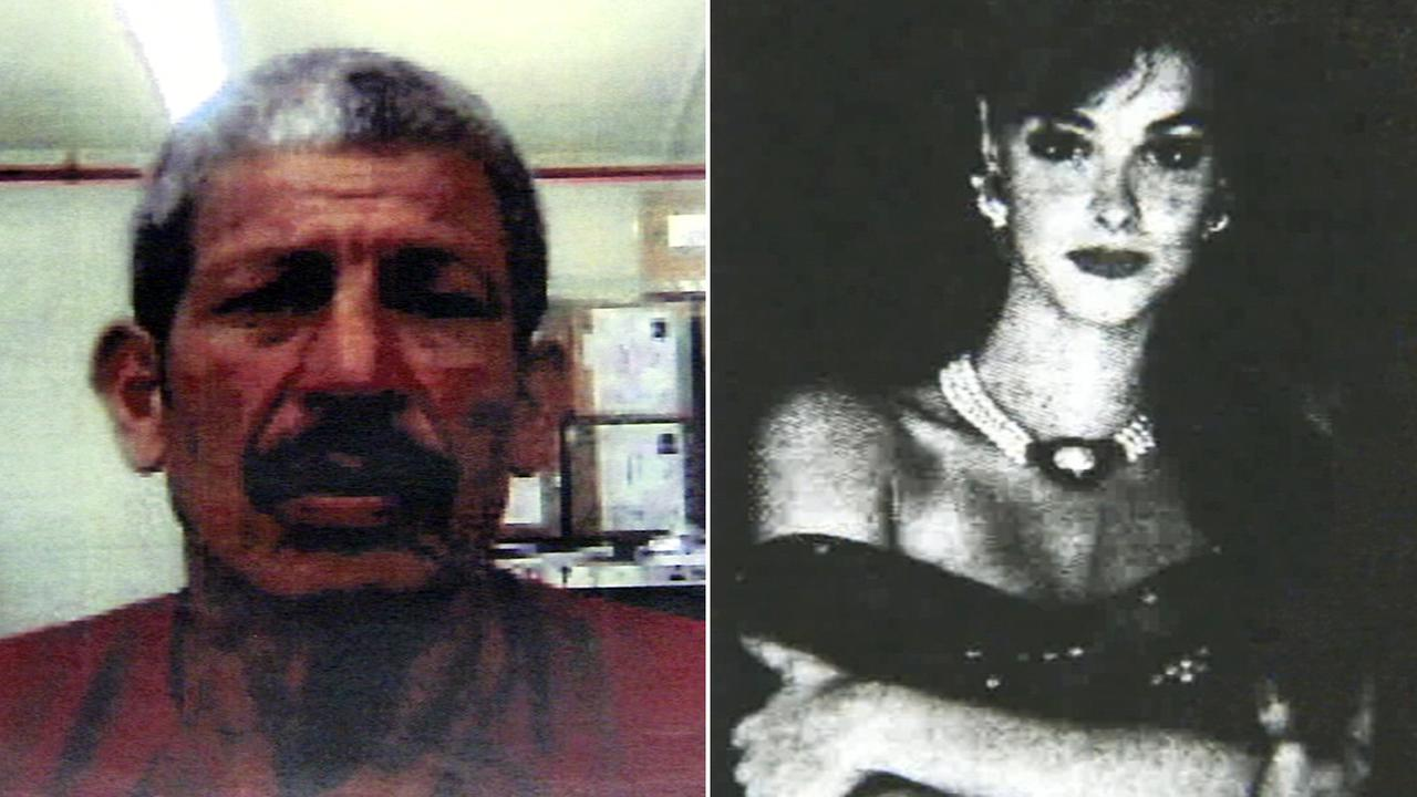 Leonardo Sanchez (left) was found guilty in the death of 19-year-old Cari Ann Parnes (right), an aspiring model whose body was found in Irvine back in March of 1992.