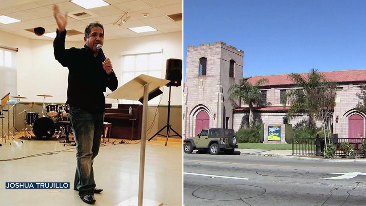 Pastor Rudy Trujillo was brutally attacked outside a church in San Fernando by a former congregant on Wednesday, March 22, 2017, according to authorities.