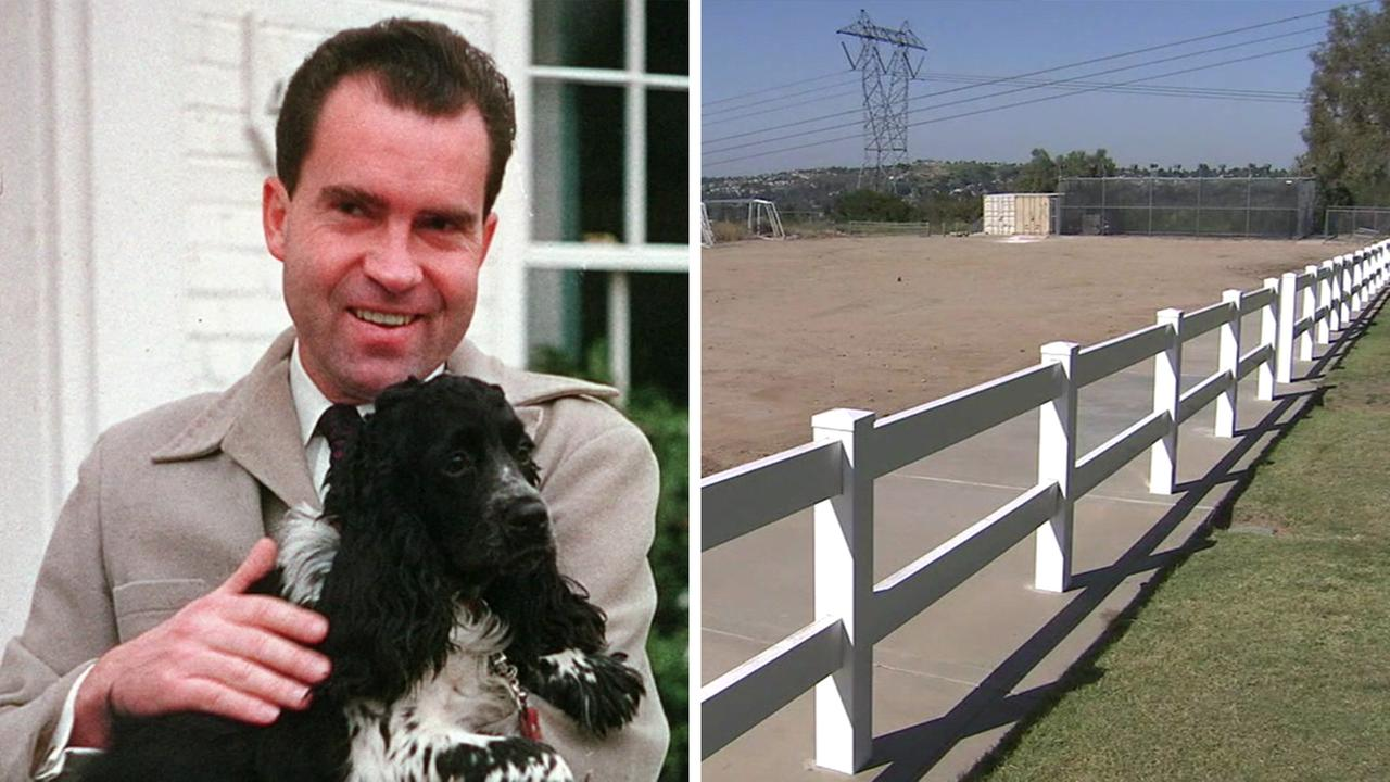 Former President Richard Nixons dog Checkers tops the list of proposed names for a new Yorba Linda park.