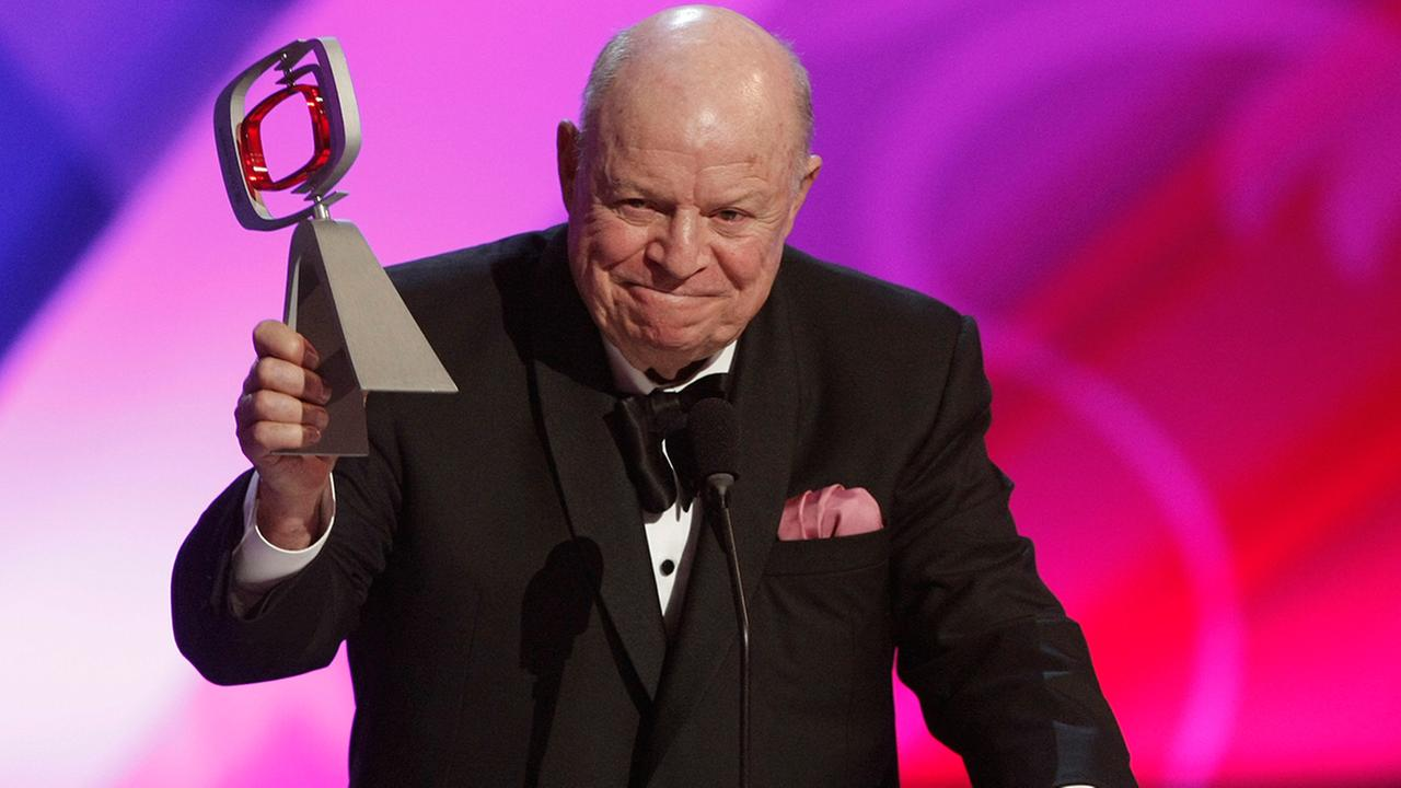 Don Rickles accepts the legend award at the TV Land Awards on Sunday April 19, 2009 in Universal City, Calif.