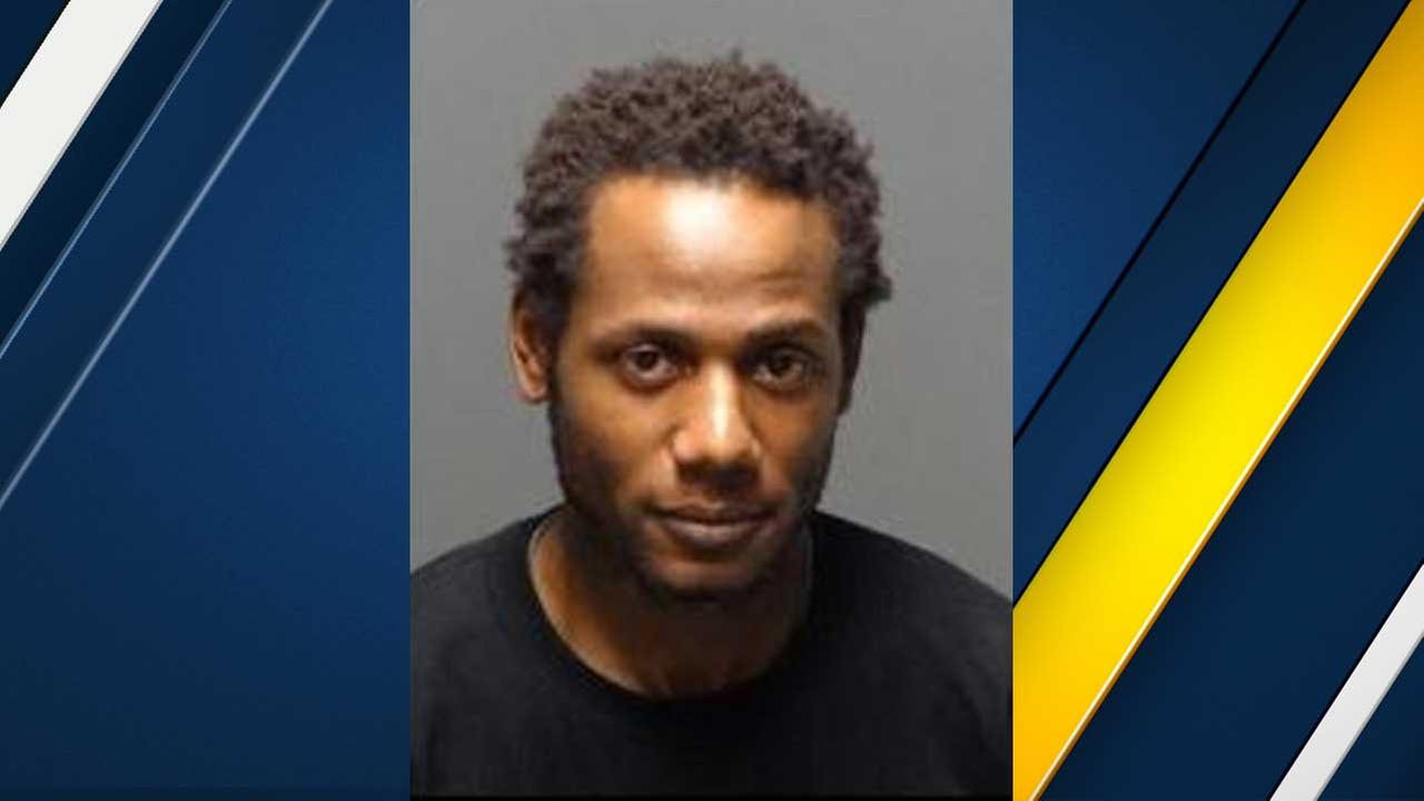 Ronald Douglas, 33, is seen in a booking photo from the Los Angeles County Sheriffs Department.