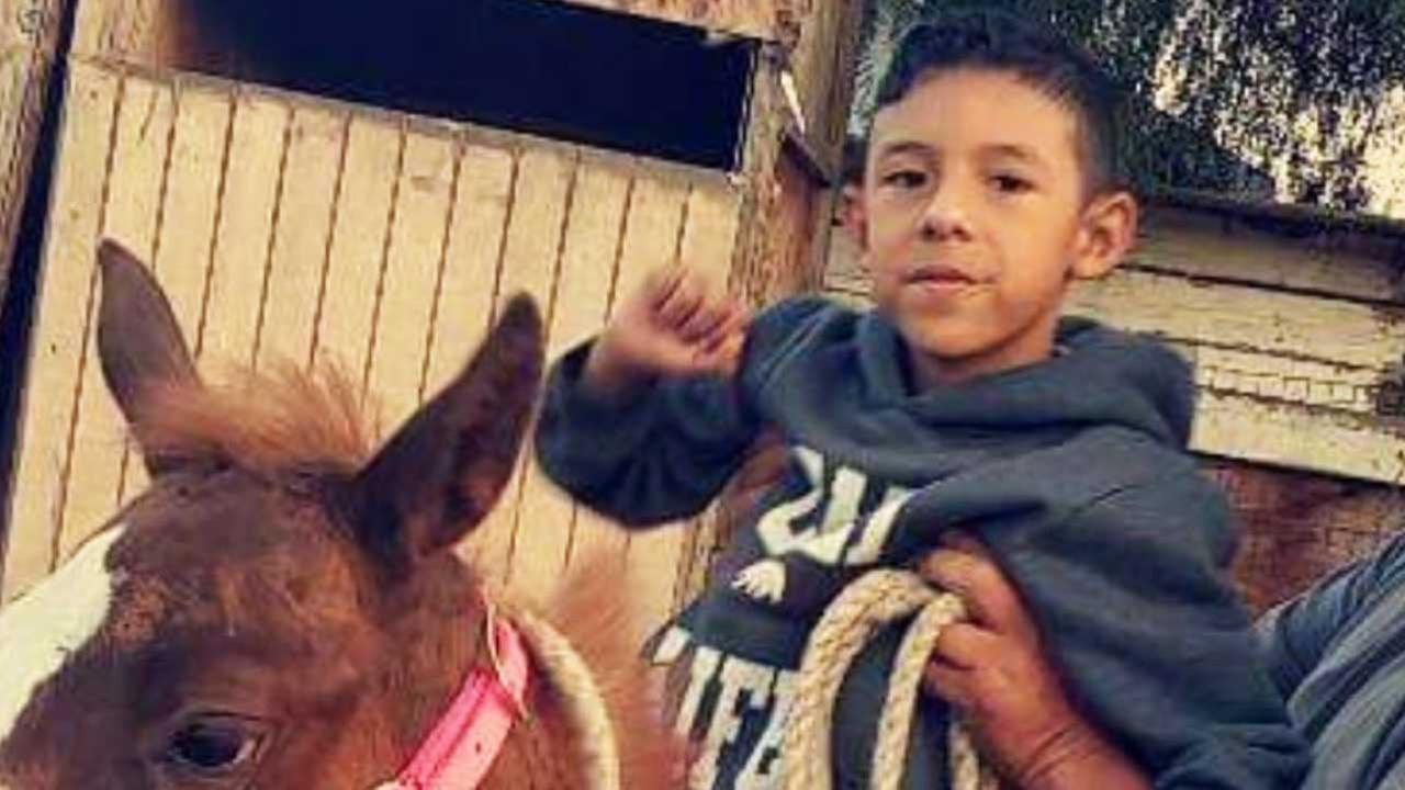 Jonathan Martinez, 8, is seen in an undated photo provided by family members.