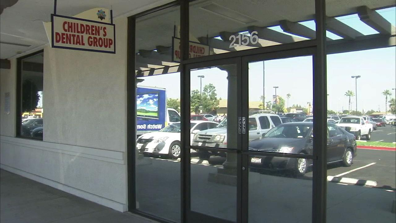 The Childrens Dental Group of Anaheims storefront is shown in a file photo.