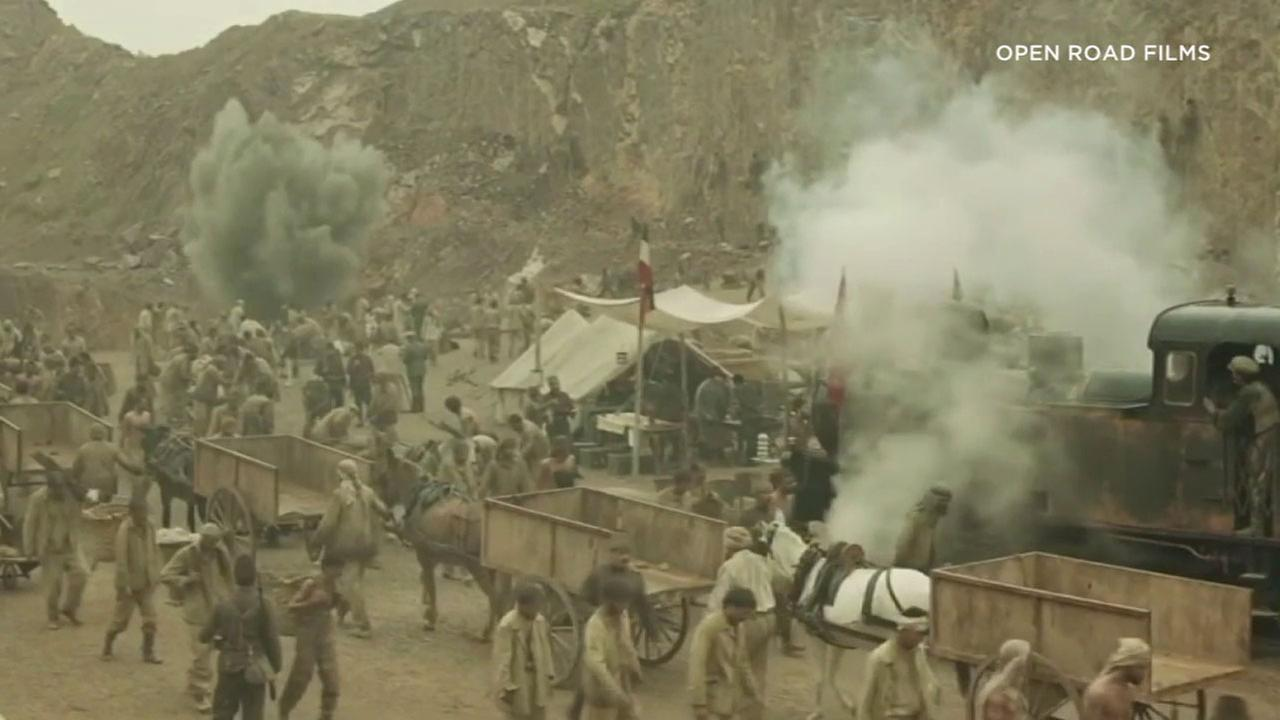 A scene from The Promise, which takes place during the Armenian Genocide.