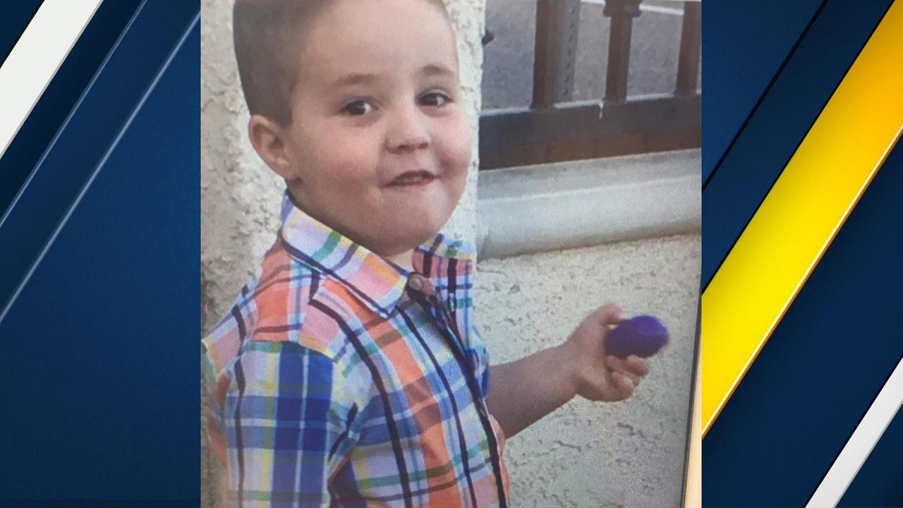 Aramazd Andressian, 5, is shown in an undated photo.