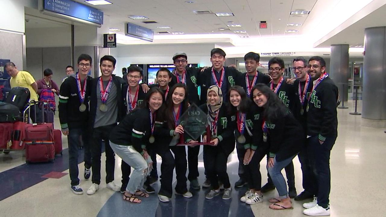 the academic decathlon team at Granada Hills Charter High School won its sixth national title in seven years at the 2017 U.S. Academic Decathlon.