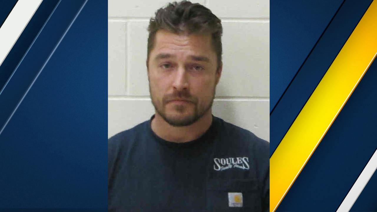 Chris Soules is seen in a booking photo after being involved in a fatal crash in Iowa on Monday, April 24, 2017.