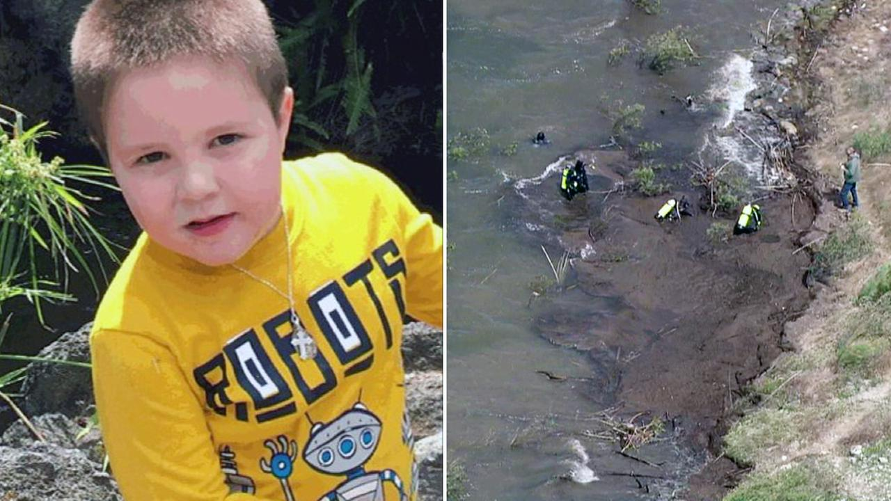 Crews searched near Cachuma Lake Recreation Area in Santa Barbara on Tuesday, April 25, 2107, in connection with missing 5-year-old Aramazd Andressian Jr.v