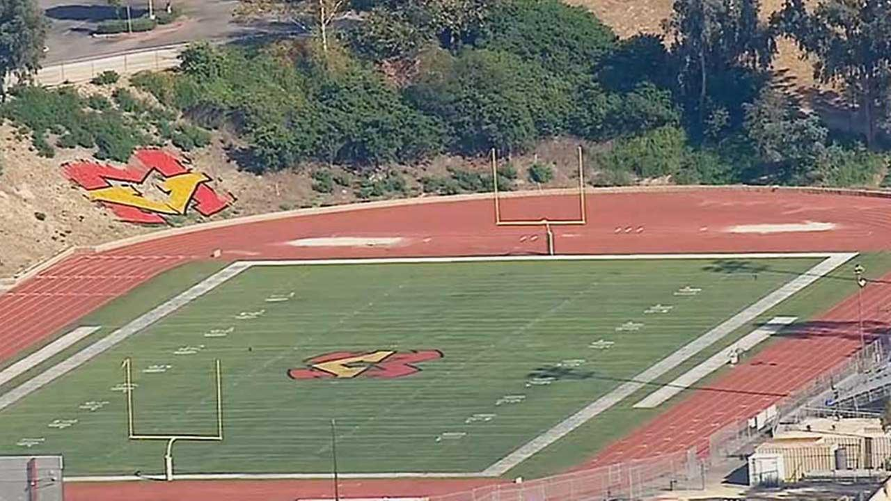 A practice field at Mission Viejo High School is seen in this 2014 file photo.