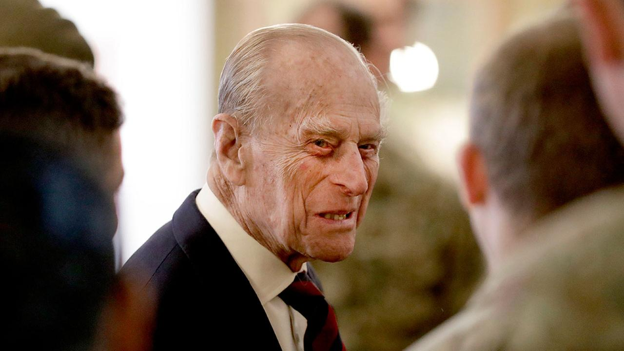 Britains Prince Philip, pictured at a military barracks in Aldershot, England on March 30, 2017.