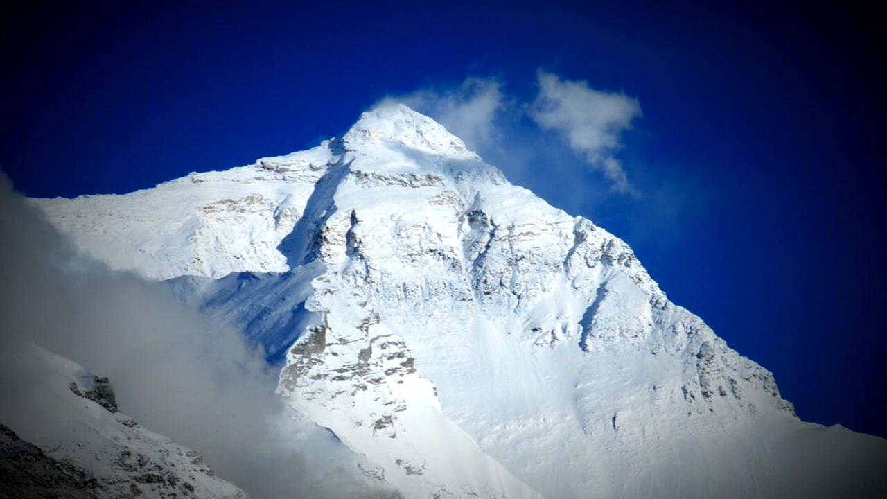 Mount Everest is shown in a file photo.