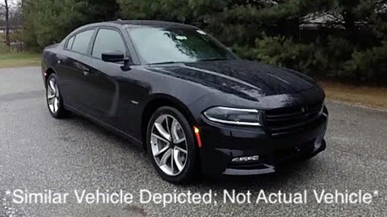 Authorities said a thief stole an unmarked Los Angeles County Sheriffs Department cruiser at the Alhambra Dodge dealership in Alhambra on Sunday, May 7, 2017.