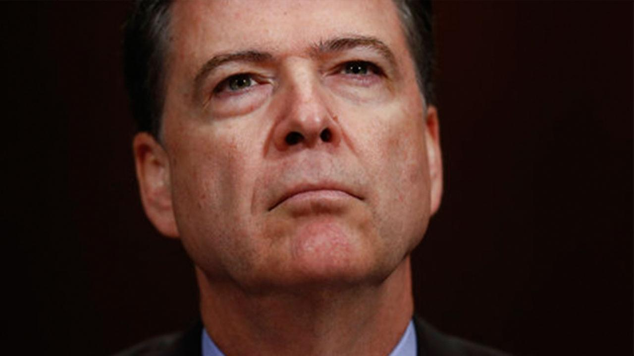 James Comey penned a letter to FBI colleagues and staff after his shock firing by President Donald Trump.