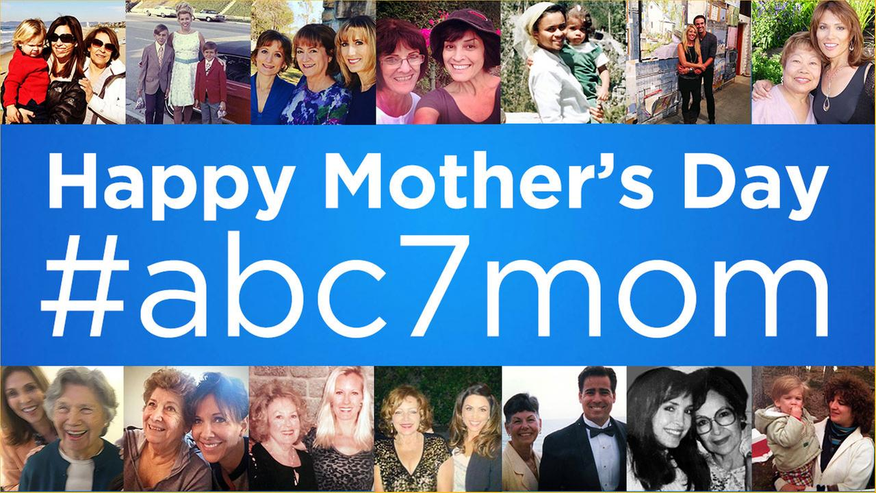 See photos of moms shared by ABC7 viewers in honor of Mothers Day.