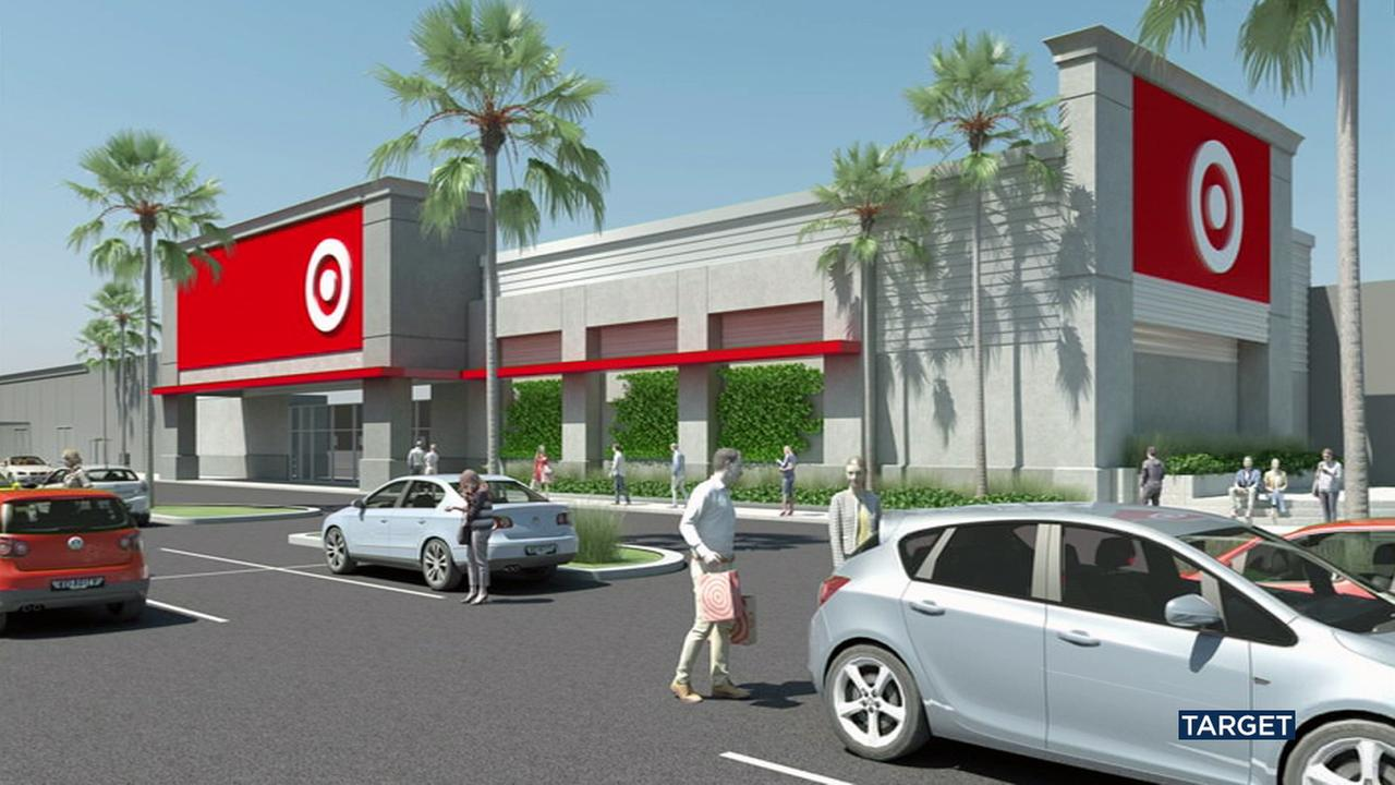 Target announced it would be building a new mini-store in Anaheim.