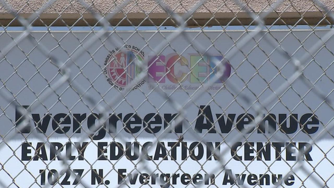 Two former Los Angeles Unified School District educators say they witnessed child abuse at a Boyle Heights school.