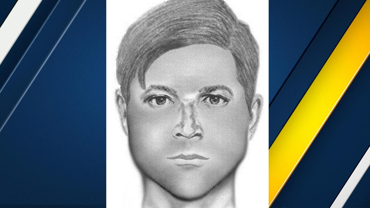 A sketch of a sexual predator believed to be as young as 13 years old who struck older victims in Upland.