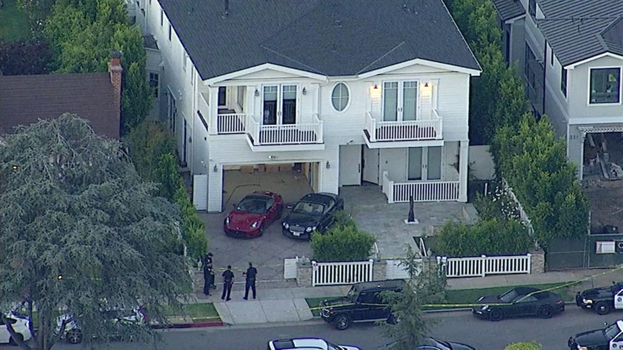 A Santa Monica home where a violent home invasion took place on Friday, May 26, 2017.