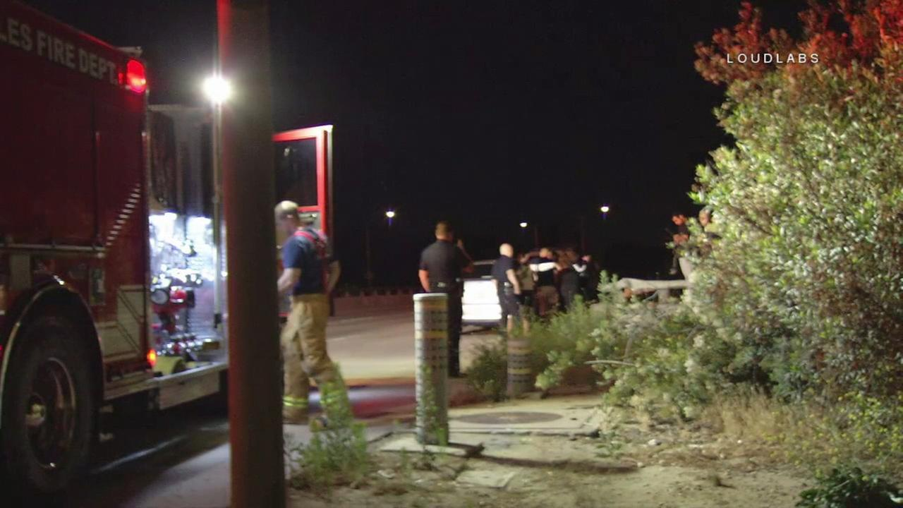 A woman was assaulted and robbed by a man with a knife in Lake Balboa Thursday night.